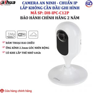 Camera IP 1.0 DAHUA DH-IPC